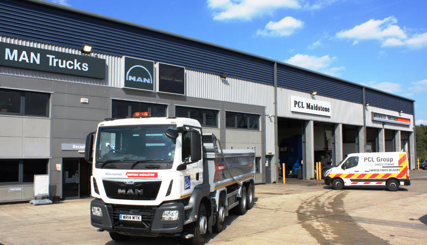 Maidstone MAN trucks