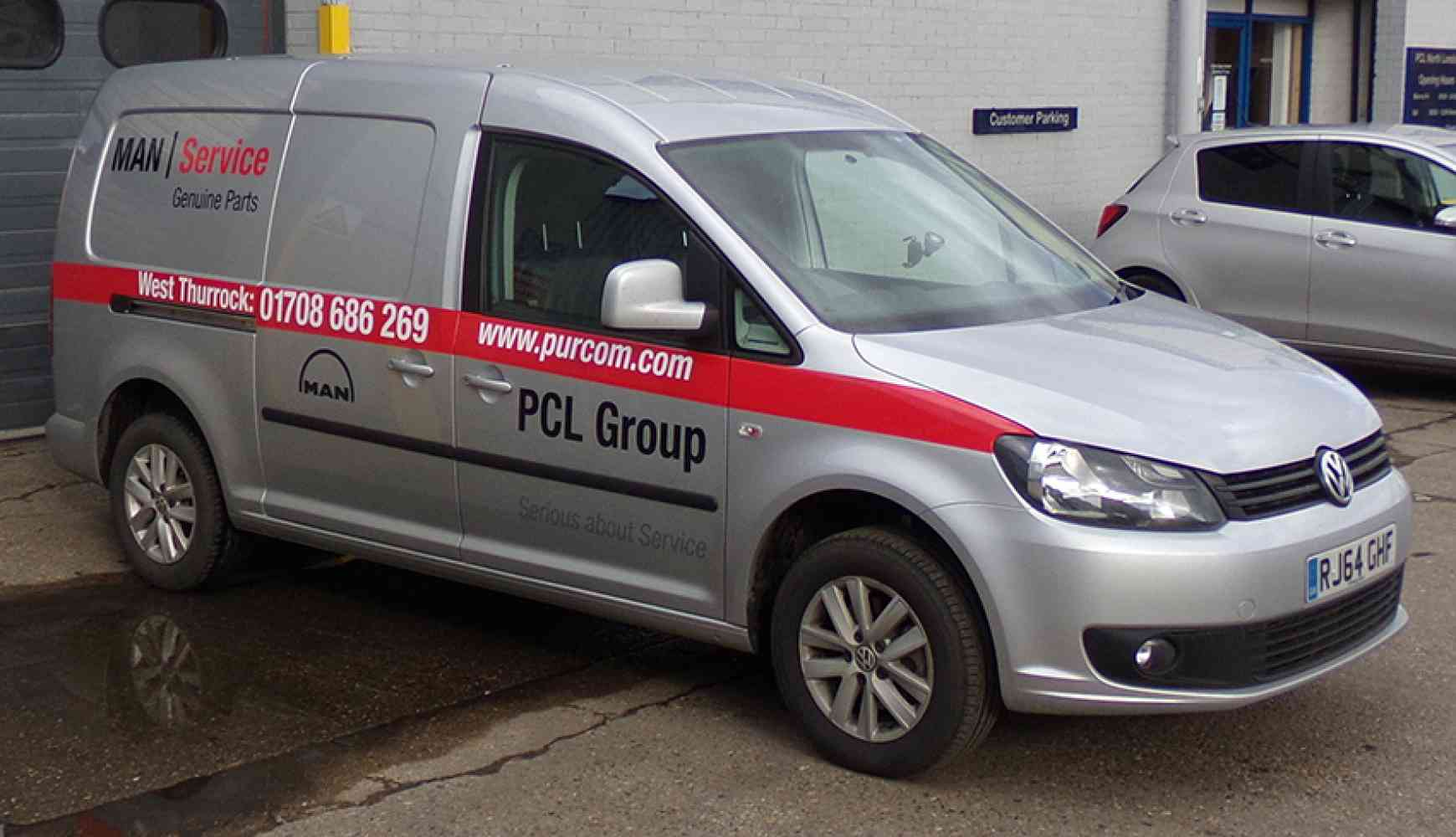 PCL  - We've taken delivery of some new delivery vans!