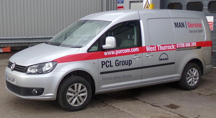 West Thurrock MAN Truck Parts Delivery Service